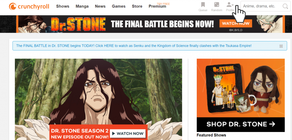 How to delete you Crunchyroll account